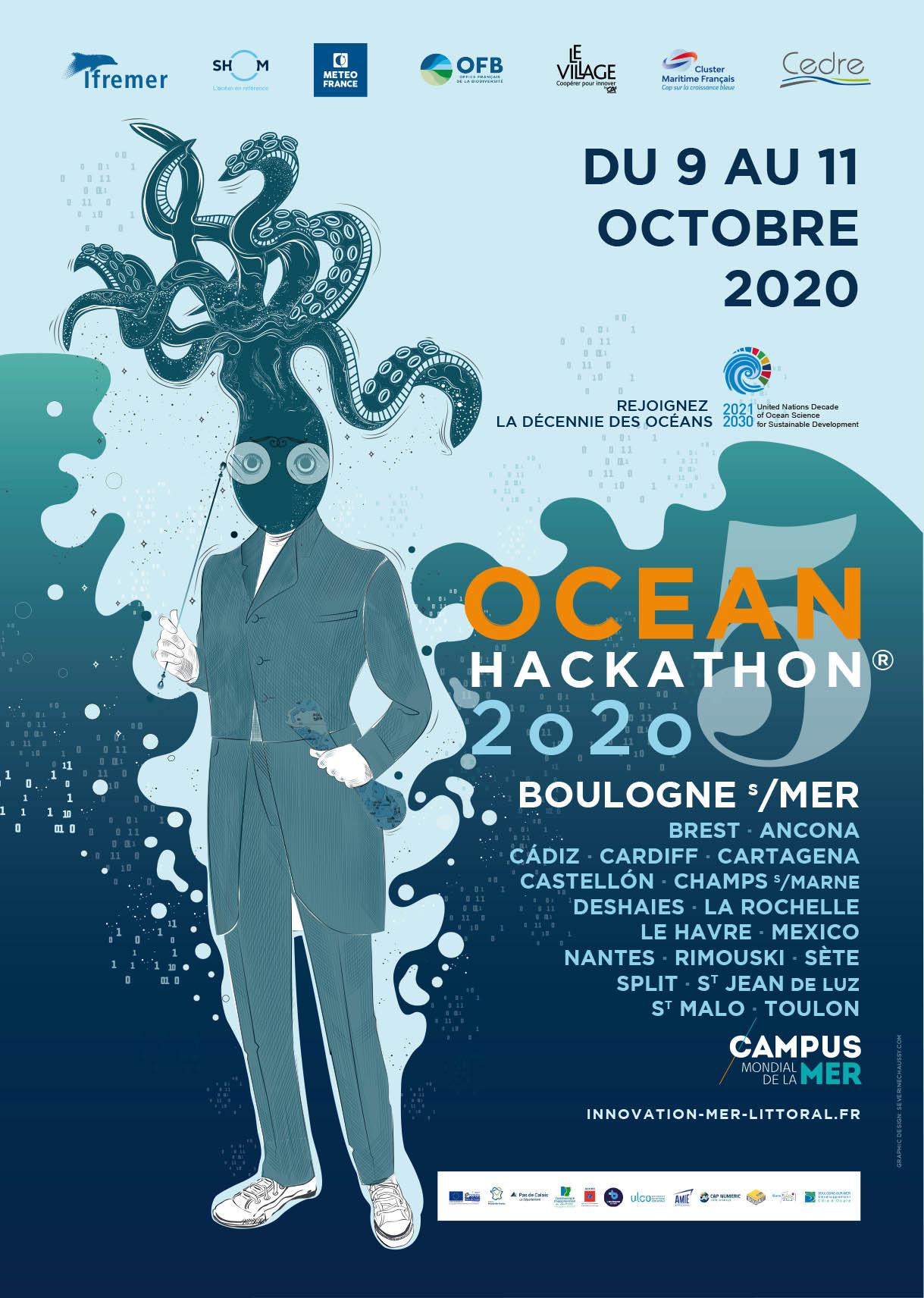 Ocean Hackathon 2020 boulogne brest