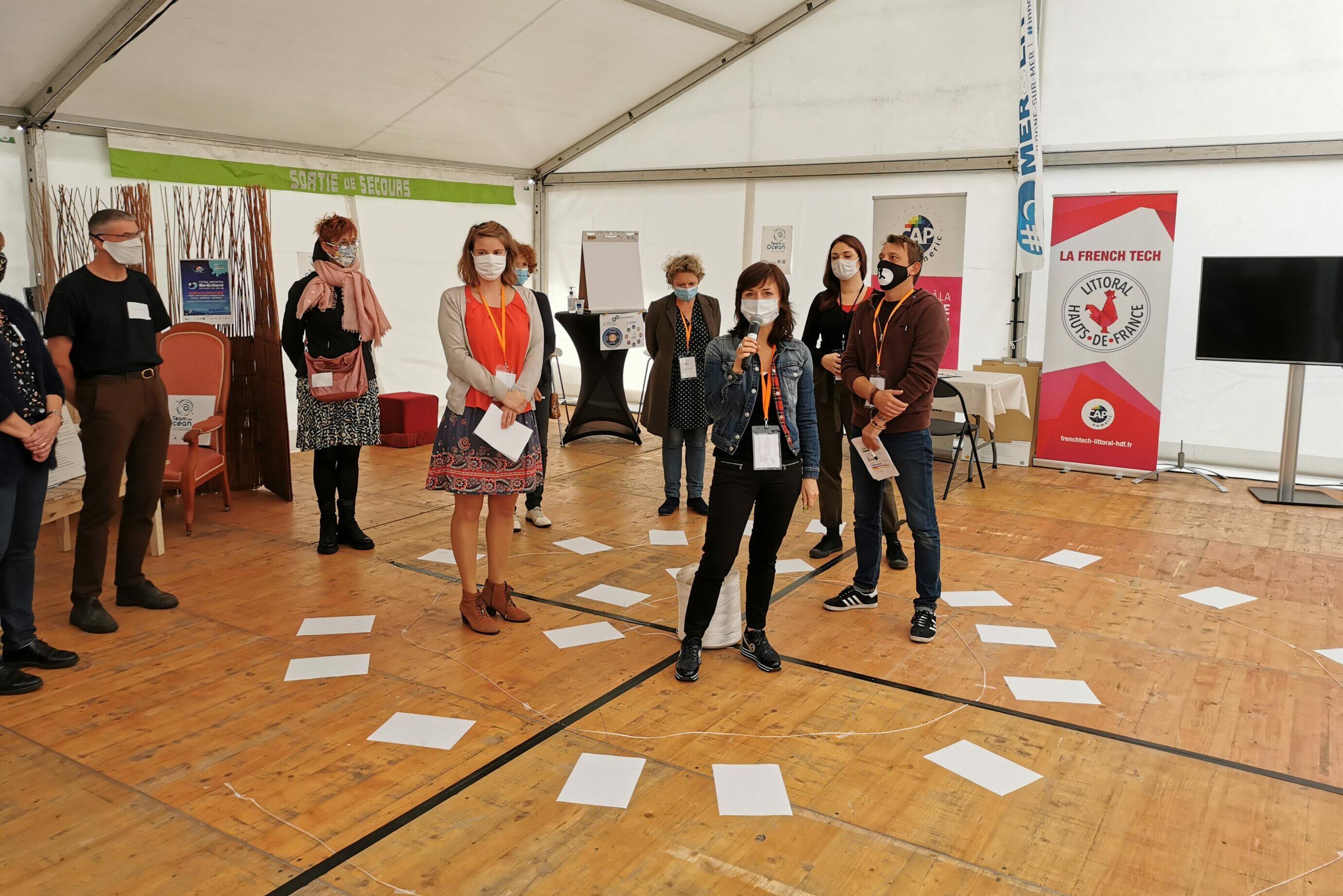 Festival Innovation ocean hackathon 2020 boulogne